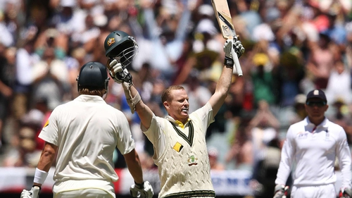 Chris Rogers scored 116 for Australia