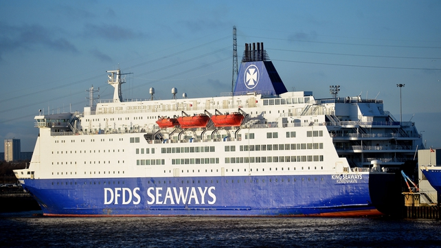 The fire was put out in about 15 minutes and the King Seaways returned to port in Newcastle