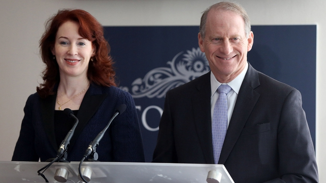 Dr Richard Haass and Prof Meghan O'Sullivan returned to Belfast yesterday