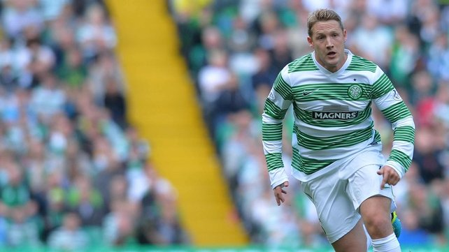 Kris Commons' secured three points for Celtic