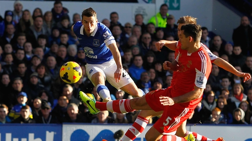 Seamus Coleman fired home his fifth Premier League goal of the season