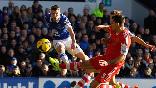 Seamus Coleman fired home his fifth Premier League goal of the season