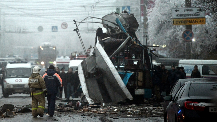 Suicide bomber in Russia