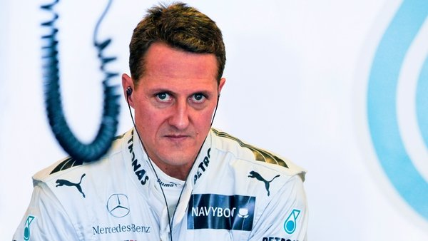 Michael Schumacher was injured in a skiing accident last month