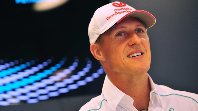 Michael Schumacher is in an induced coma following Sunday's accident