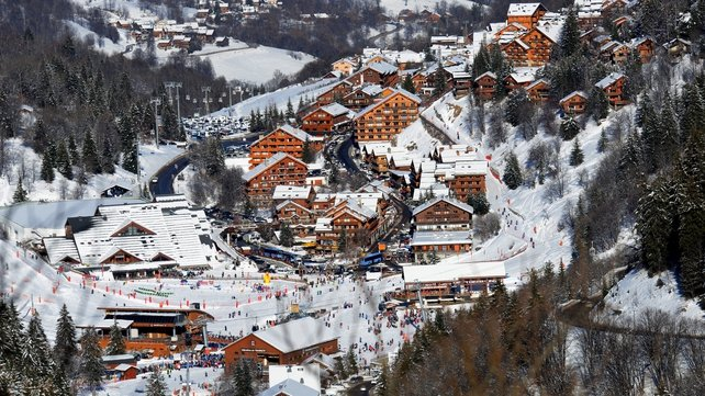 The accident happened in the French ski resort of Meribel