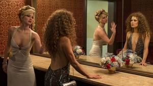 Jennifer Lawrence and Amy Adams in American Hustle