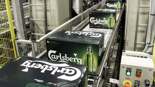Higher sales in supermarkets are not compensating for loss of revenue in bars in western Europe, Carlsberg said