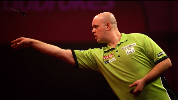 Michael Van Gerwen produced a stunning display against Phul Taylor