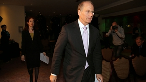 Dr Richard Haass, leaving the venue of the talks, said he had not given up hope