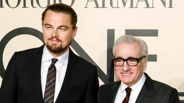 Leonardo DiCaprio was directed by Martin Scorsese in Shutter Island