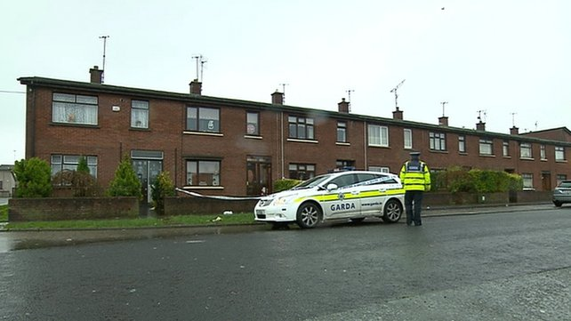 The stabbing happened in the Rathmullen Park area overnight