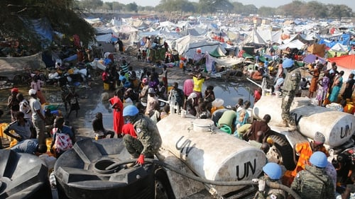 Thousands of people have died or been displaced by fighting in South Sudan