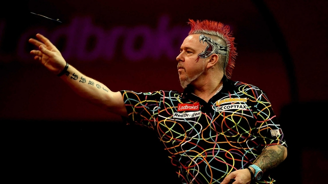 Peter Wright's bid to land the Sid Waddell Trophy was compromised by a sluggish start