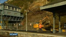 Landslide disrupts train services in Waterford