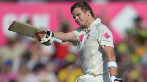 Steve Smith scored impressive century on opening day in Sydney