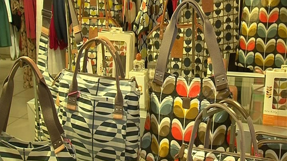 Orla Kiely Handbags, RTÉ News, 2012