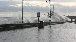 Blackrock, Co Louth fared badly in the stormy conditions (Pic: @gavmcd)