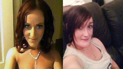 Jodie Brogan (l) and her sister Anngeline died following a house fire at Ceanann View