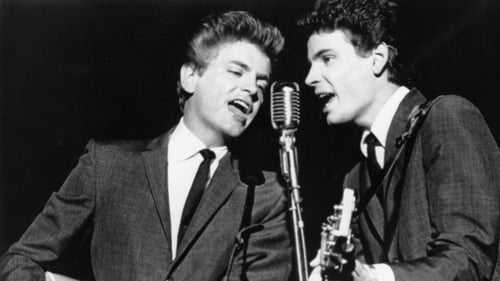 Phil Everly (left) who died last week. Macca pays tribute on his website