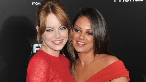 Emma Stone and Mila Kunis