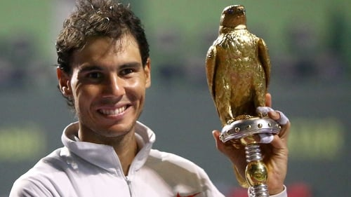 Victory took Nadal past Andre Agassi into eighth spot on the all-time list of ATP Tour title winners
