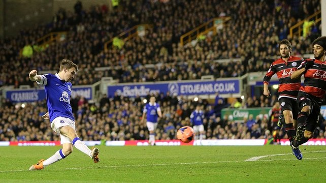 Seamus Coleman notched up his sixth goal of the season