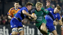 Leinster coach Matt O'Connor gives his reaction to their win over Connacht, and Hugo MacNeill looks ahead to round 5 of the Heineken Cup