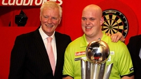 Barry Hearn looks back at the PDC Dart World Championships