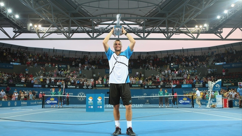 Lleyton Hewitt last won in Australia at the 2005 Sydney International