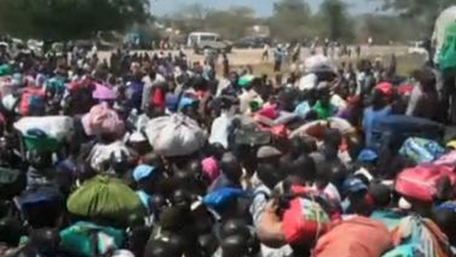 Many people have been displaced in South Sudan