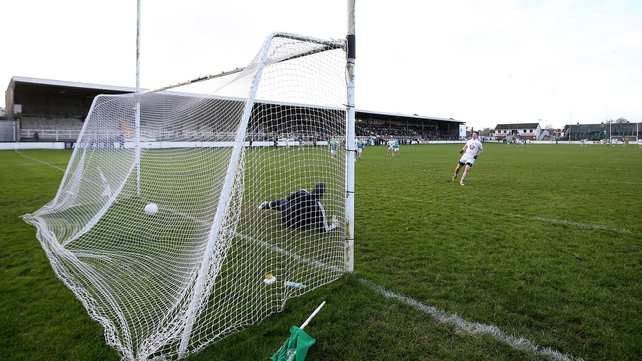 Padraig Fogarty scored a penalty for Kildare