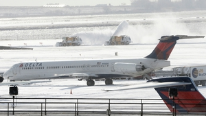 Hundreds of domestic and international flights have been cancelled