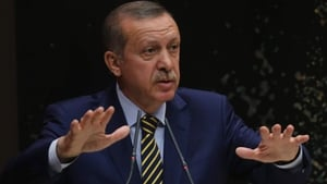 Tayyip Erdogan said he would not oppose the retrials of the former officers