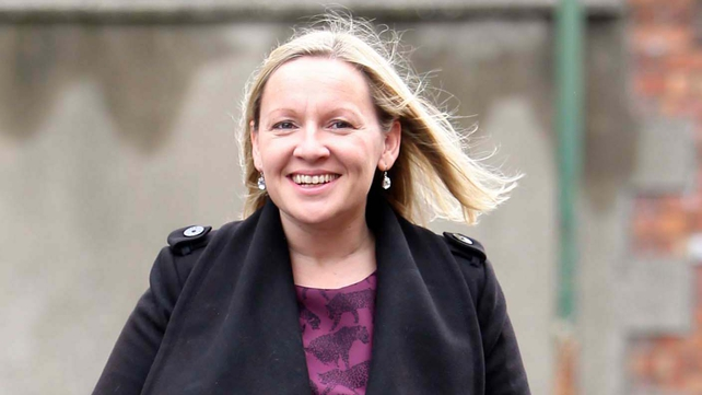 Lucinda Creighton said the alliance wants to consult the public (Pic: Photocall/Sam Boal)