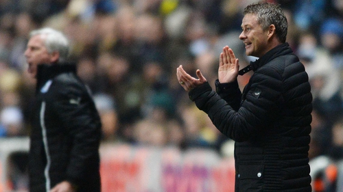 Ole Gunnar Solskjaer won his first game in charge at Newcastle