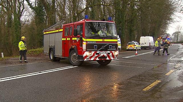 The collision happened near Fossa on the outskirts on Killarney