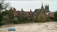 Britain battered by high winds and heavy rain