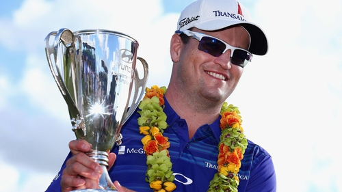 Zach Johnson emerged from the pack in Hawaii