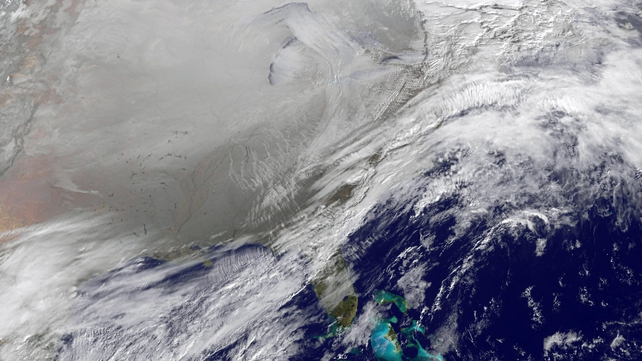 The 'polar vortex' is moving eastwards across the US