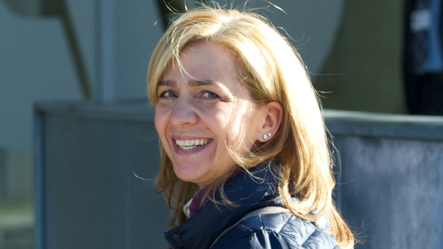 The Infanta Cristina has been summoned to appear in court in March