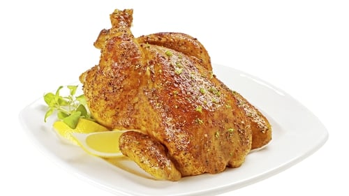 Neven Maguire's Fragrant Roast Chicken with Sausage Stuffing