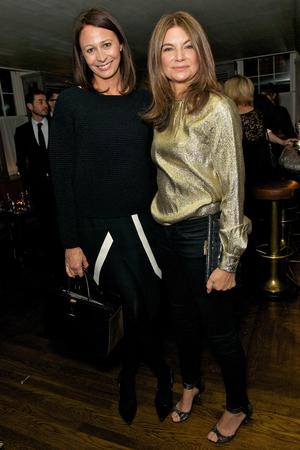 Caroline Rush and Natalie Massenet
