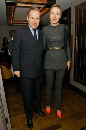 Simon and Michaela De Pury