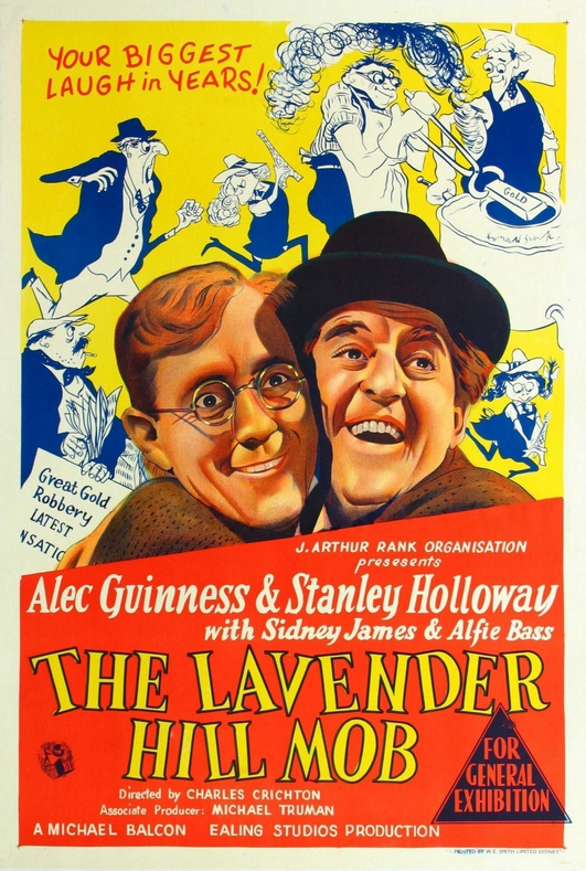 Classic Movie: The Lavender Hill Mob
