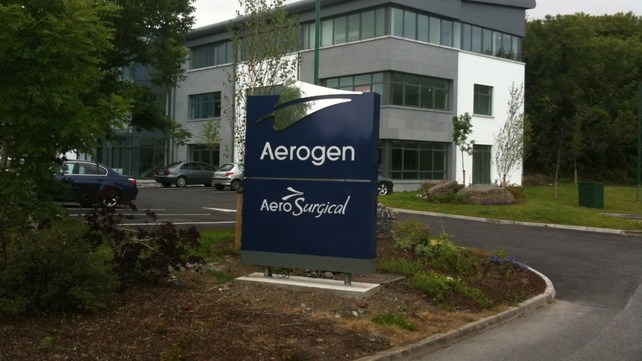 Galway-based Aerogen specialises in drug delivery systems