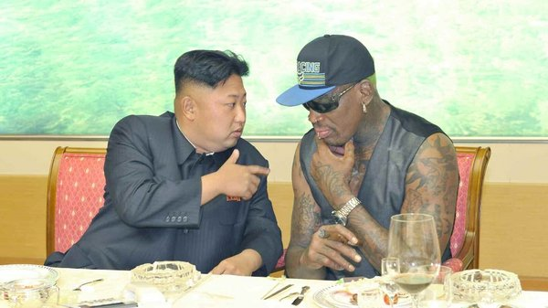 Denis Rodman said of Kim Jong-un 'I love my friend'