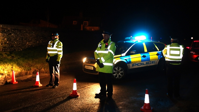 A cordon has been placed around Cley-next-the-Sea as the aircraft was carrying munitions