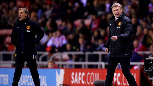 David Moyes' side were beaten in the first leg
