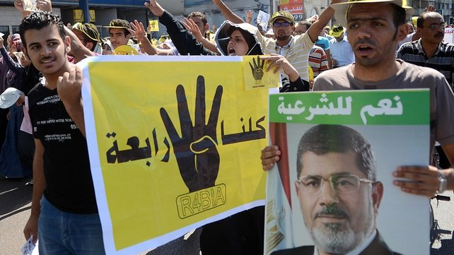 Mohammed Mursi's supporters have held numerous protests since he was removed from power